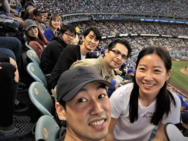 Dodgers game June 2017.JPG