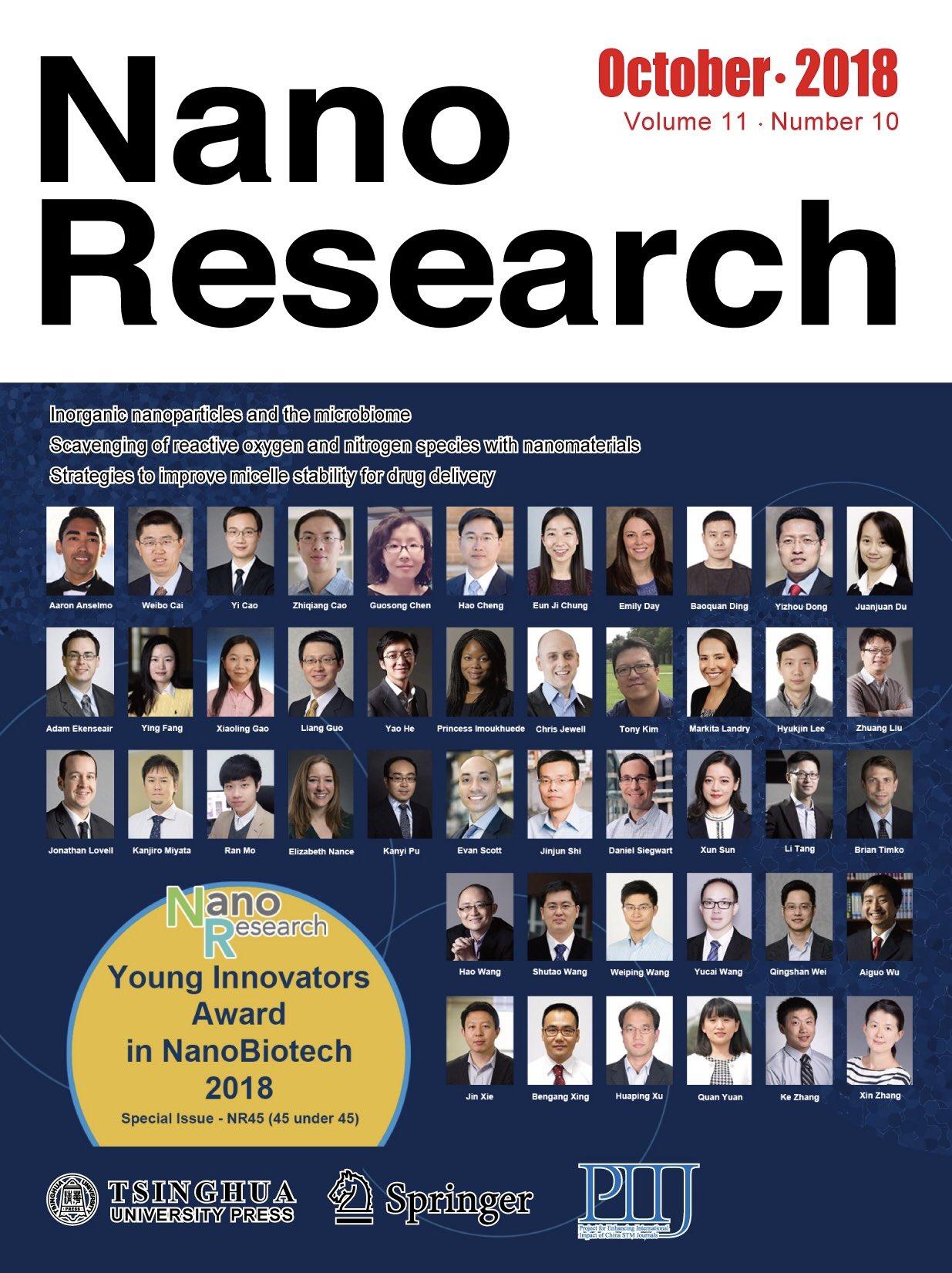Nano Research cover