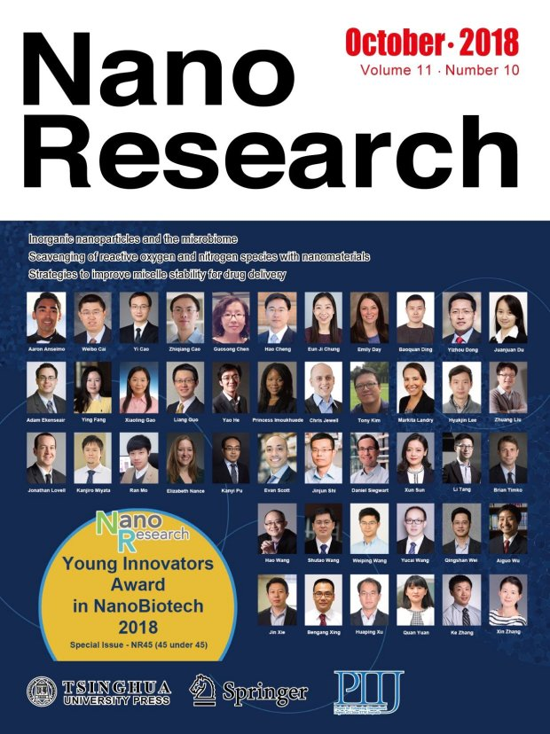 Nano Research cover